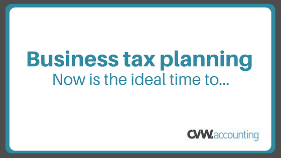 CVW Accounting business tax planning