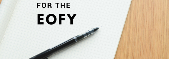 Tax planning for the EOFY
