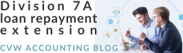 Division 7A loan repayment reprieve - check out the blog here